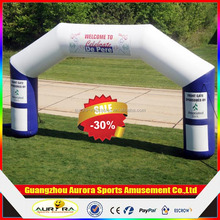 Customized Logo inflatable event arch with factory lower price