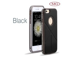 wholesale on alibaba china 2015 new design stanadable crystal aluminium bumper cell phone case for iphone 6&plus