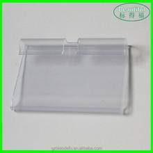 50*32mm Supermarket Price Tag Display Plastic Holder/Clip