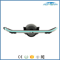 18km/h Max speed unicycle electric skateboard with LED light bluetooth electric longboard skateboard