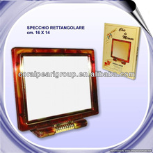 "6"" Tortoise Shell Hairdressing Mirrors"
