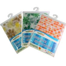 PEVA / EVA / PE impermeable transparente de la cortina de ducha