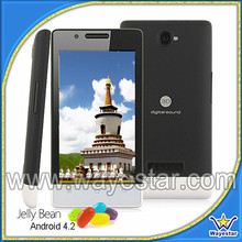 low cost android smart mobile phone 4 inch dual sim wifi mobile phone
