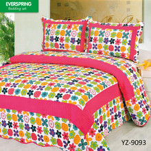 China manufacturer supply cheap bed sheet patchwork quilt