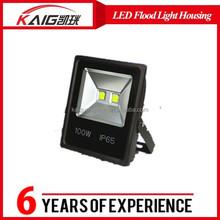 shopping online factory price 100 watt led flood light, aluminum enclosure, outdoor led flood light housing