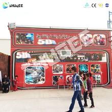 Removable 5D Cinema Cabin , 5d Mini Cinema , 5D Theater Sale for Amusement Park
