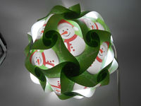 2014 new design/ snowman design / pendant light 250mm
