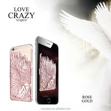 New Design Luxury Angel Wing PC Cell Phone Case Shell for iPhone 6