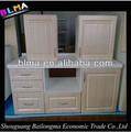 caliente 2014 prefabricada de ventas del gabinete de cocina