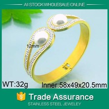2015 new latest design 24k gold bangles dubai jewelry