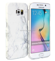 Black and White Marble Pattern Printing Ultra Slim Hard Case for Samsung Galaxy S6, China Supplier