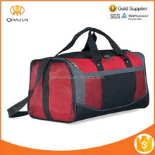 Mesh Pocket Sports Workout Travel Carry on Athletic Waterproof Nylon Polyester Gym Bag