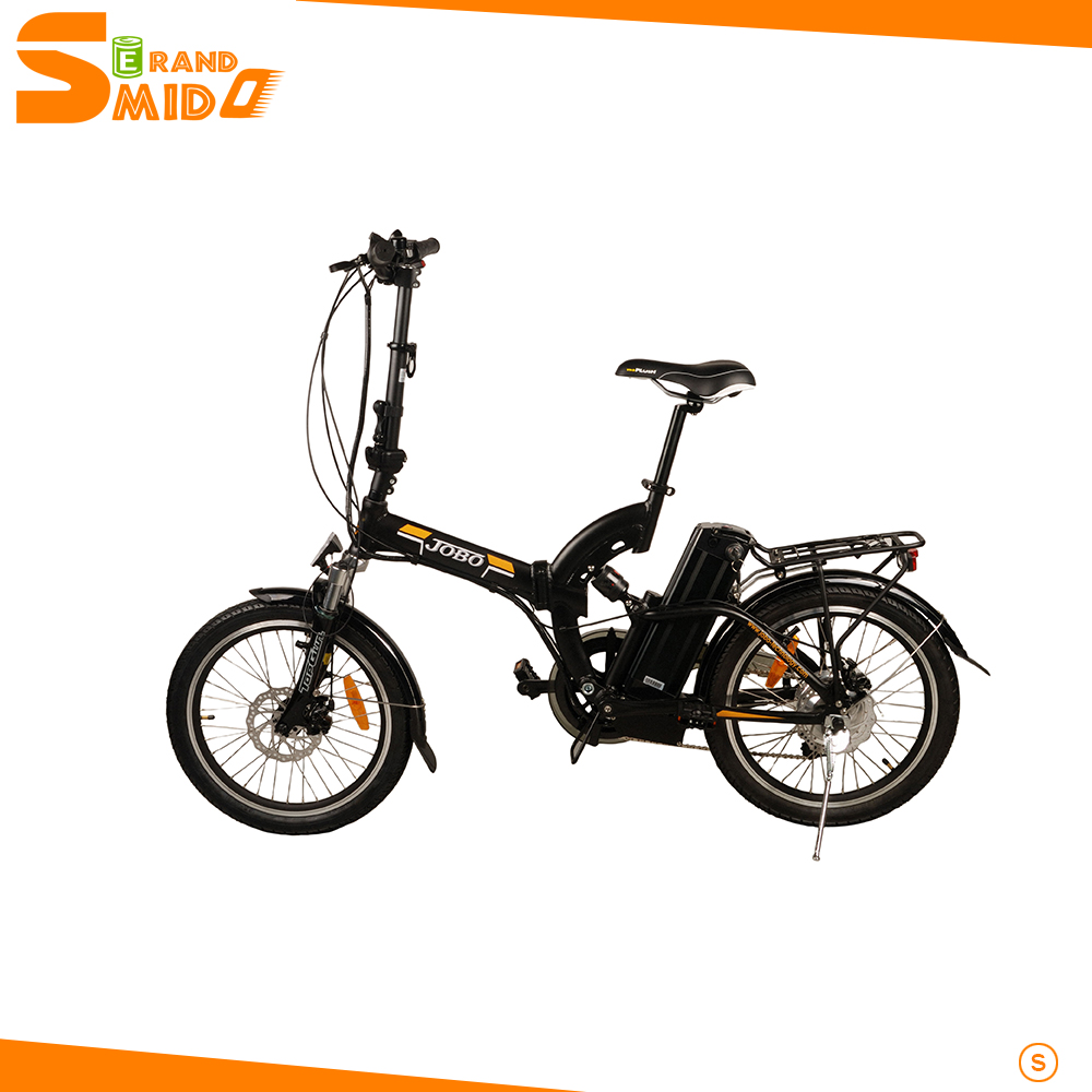 Small folding electric bicycle with brushless dc motor for Little motors for bicycles