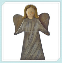 Decorative ceramic porcelain angel