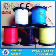 Strict quality control PVC sheathed electrical wire/PVC insulated flat copper conductor wire
