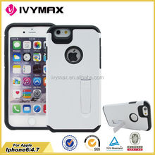 On sale cell phone case for apple iphone 6 pc tpu 2 in 1 combo case