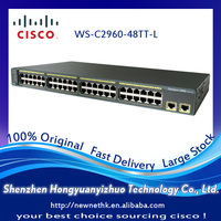 New & Sealed Cisco Switch Catalyst 2960 series WS-C2960-48TT-L PoE Switch LAN Base Switch