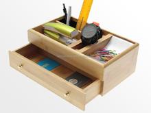 Bamboo desk organizer,desktop organizers with drawers,desk organizer for office