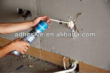 Caulk and fixing foam Gun & Straw type