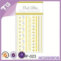 Hot Dot Stickers,Temporary Metal Tattoo,Skin Temporary Tattoos