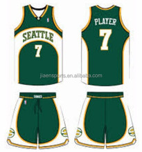 Cheap reversible customize basketball wear, full sublimation printing basket ball clothing