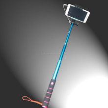 2015 tripod foldable wired selfie stick logo