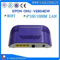 GEPON ONU , 4FE port, FTTH, FTTx, networking