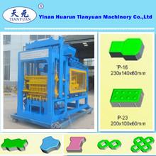 Qty4-15a strada blocco automatico di cemento blocchi/macchine per la produzione di mattoni
