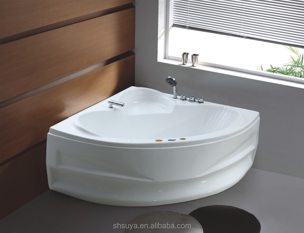 two person portable spa whirlpool massage corner bathtub. Black Bedroom Furniture Sets. Home Design Ideas