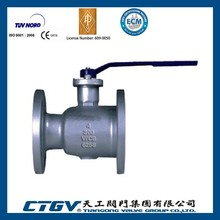 A216 WCB 4 inch 1pc/one piece Ball Valve