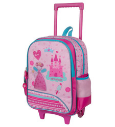 Princess EVA trolley backpack for schoolgirl