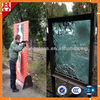 safe Bulletproof Glass for sale with ISO BV&CE Bullet proof glass