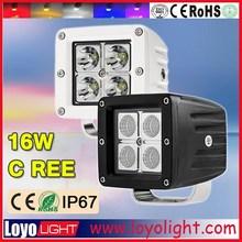 """Promotion!! 3"""" truck led lights motorcycle led driving lights, 12V led work light for 4x4/ offroad 16W led work light"""