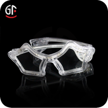 Free Sample Plastic Star Shaped Sparkling Led Flashing Eyeglasses For Party