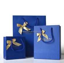 Factory custome logo printed Shopping bag , Gift bag , Paper bag with handle