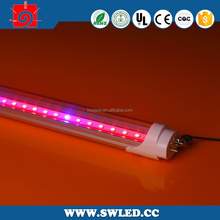 hot sale SGT8122-18W high quality tube8 red tube sex led