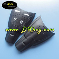 Best Price 4 button remote cover with soft button for saab key saab soft fob key