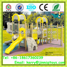 Kids plastic slide, children play area equipment, kids garden play equipment JMQ-P097C