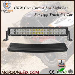 "Factory wholesale price! 21.5"" 120W curved led light bar, offroad Truck Tractor jeep led driving light ATV SUV auto led lighting"