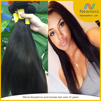 Full cuticle intact and aligned 30inches brazilian indian chinese 5a hair bulk