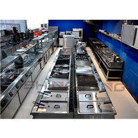 2015 High Quality Commercial Gas Cooking Range