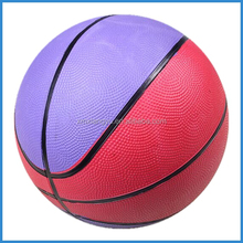 cheap eco-friendly rubber indoor basketball ball size 5 for promotional gift