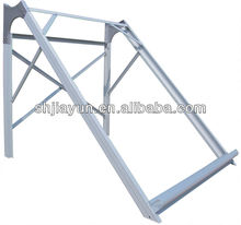 aluminium alloy adjustable solar mounting bracket with different colors