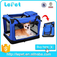 high quality wholesale low price portable soft dog crate/travel soft dog carrier pet carrier
