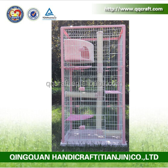 Qq pet factory wholesale large animal cage toy pet cat for Large dog cages for sale cheap