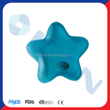 Blue grounding color snow flower heat pack hand warmer covers
