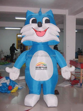 inflatable advertising ,inflatable model blue cat