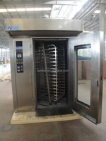 industrial bread baking machine /rotary oven with trolley