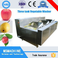 Industrial vegetables fruit ultrasonic washer