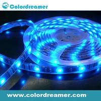 Manufacturer direct sale led flexible DMX programmable RGB led strip light,12V input SMD5050 supper waterproof outdoor&indoor